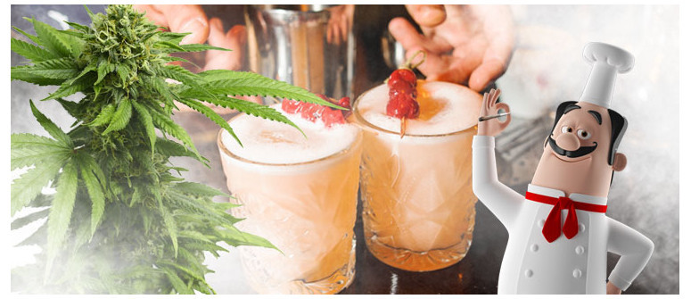 Weed 'N Whisky Sour recipe
