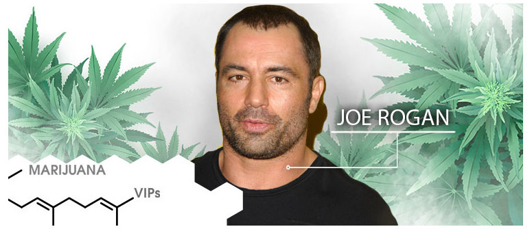 VIP De La Marijuana :  Joe Rogan